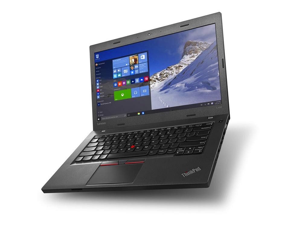 "Lenovo ThinkPad L460 - i3-6100U   8GB DDR3   256GB SSD   NO ODD   14""   1920 x 1080 (Full HD)   Webcam   HD 520   Win 7 Pro COA   Silver"