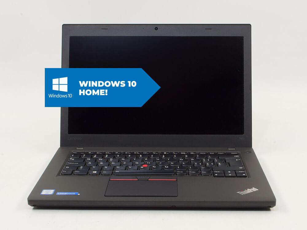 "Lenovo ThinkPad T460 + MAR Windows 10 HOME - i5-6300U | 8GB DDR3 | 256GB SSD | NO ODD | 14,1"" | 1920 x 1080 (Full HD) | Webcam | HD 520 | MAR Win 10 Home | HDMI | Bronze"