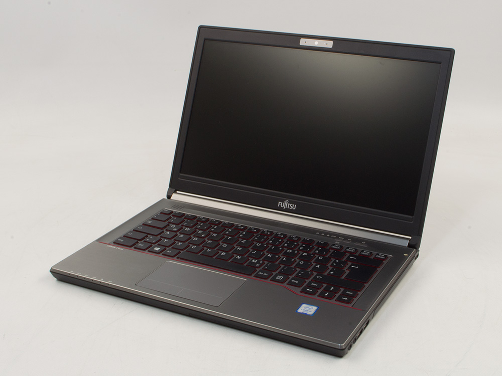"Fujitsu LifeBook E746 - i7-6500U | 8GB DDR4 | 240GB SSD | NO ODD | 14"" | 1920 x 1080 (Full HD) | Webcam | HD 520 | Win 10 Pro | Silver"