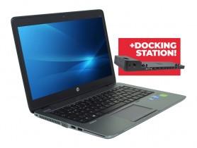 HP EliteBook 840 G1 + Docking station HP 2013 Ultra Slim D9Y32AA repasovaný notebook - 1526414