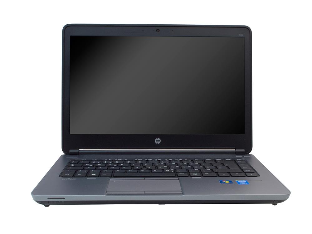 """HP ProBook 640 G1 - i5-4200M   8GB DDR3   240GB SSD   NO ODD   14""""   1366 x 768   Webcam   HD 4600   Win 7 Pro COA   Silver"""