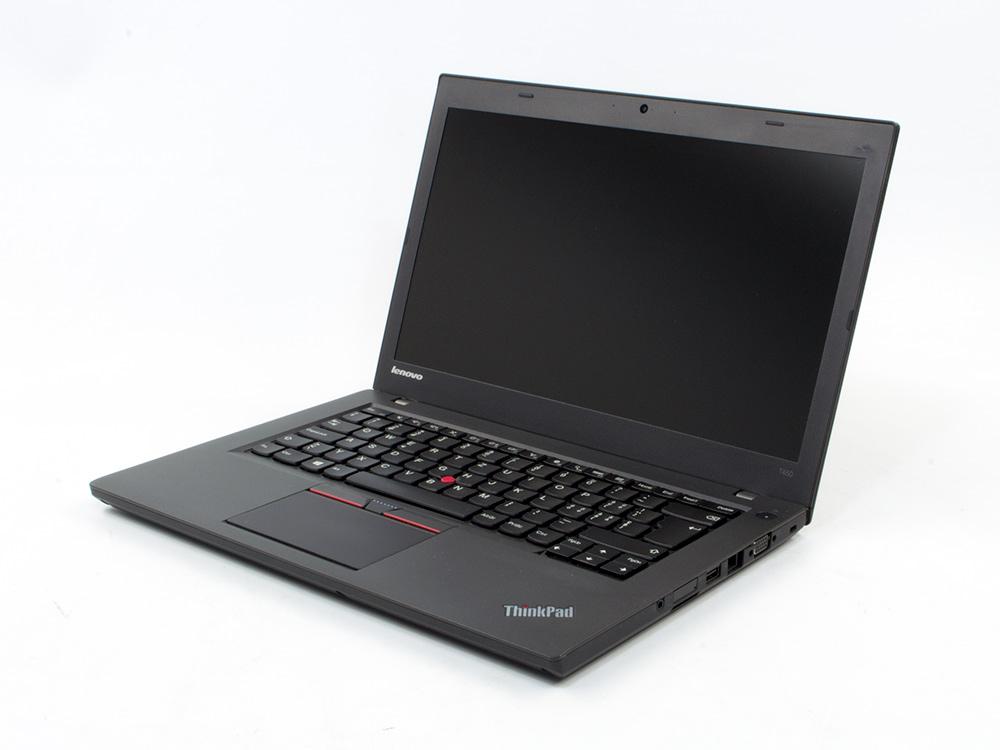 "Lenovo ThinkPad T450 - i5-5200U   8GB DDR3   240GB SSD   NO ODD   14,1""   1600 x 900   Webcam   HD 5500   Win 10 Pro   Bronze   Touchscreen"