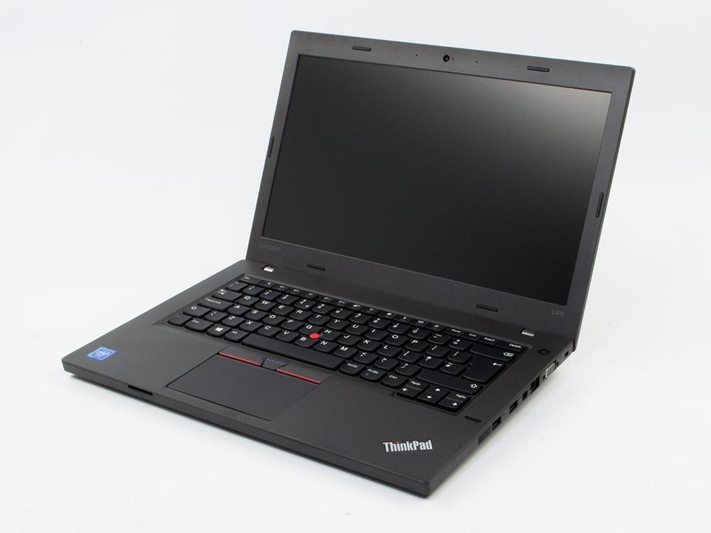 """Lenovo ThinkPad L470 - i5-6300U   8GB DDR4   240GB SSD   NO ODD   14""""   1920 x 1080 (Full HD)   Webcam   HD 620   Win 10 Pro   Bronze"""