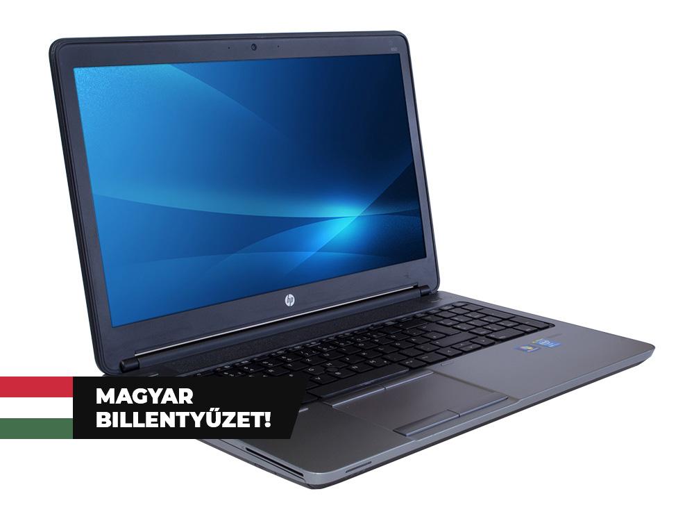 """HP ProBook 650 G1 - i5-4200M   8GB DDR3   128GB SSD   DVD-ROM   15,6""""   1366 x 768   NumPad   Webcam   HD 4600   Win 10 Pro   HU keyboard   Bronze"""
