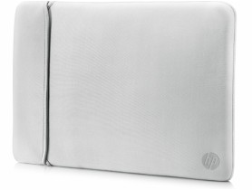 "HP 15.6"" Reversible Sleeve – Black/Silver"