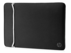 "HP 14.0"" Reversible Sleeve – Black/Silver Taška na notebook - 1540036"