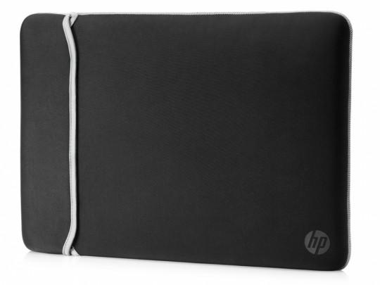 "HP 14.0"" Reversible Sleeve – Black/Silver Taška na notebook - 1540036 #1"