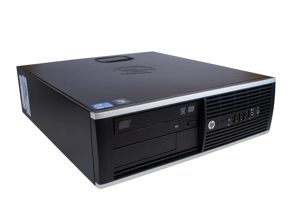 "HP Compaq 8200 Elite SFF - SFF | i5-2400 | 4GB DDR3 | 250GB HDD 3,5"" | DVD-ROM | HD 2000 | Win 7 Pro COA | Silver"