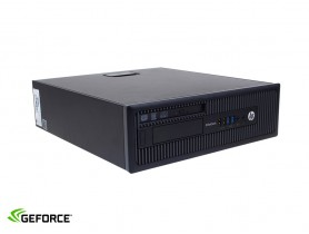 HP EliteDesk 800 G1 SFF + GTX 1050Ti 4GB