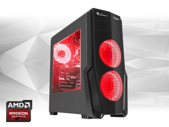 Furbify GAMER PC 6 Tower i7 + Radeon RX570 8GB repasovaný počítač, Intel Core i7-6700, Radeon RX570 8GB, 8GB DDR4 RAM, 240GB SSD - 1602309 #1