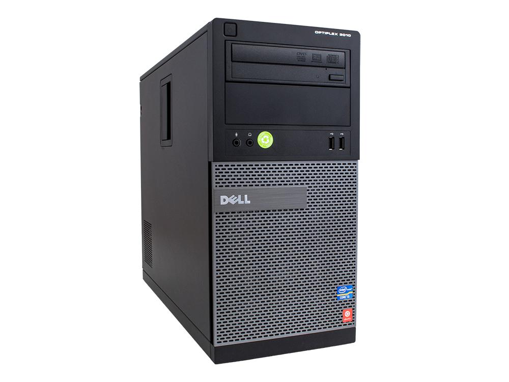 "Dell OptiPlex 3010 MT - MT | i3-3220 | 4GB DDR3 | 500GB HDD 3,5"" | DVD-RW | HD 2500 | Win 7 Pro COA | HDMI | Silver"