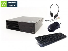LENOVO ThinkCentre M75e SFF + 120GB SSD + Headset + Keyboard + Mouse