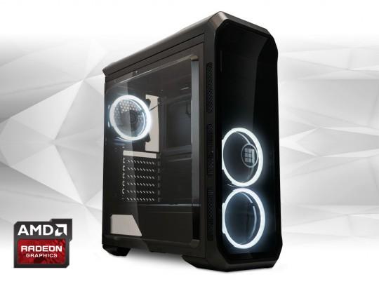 "Furbify PC 6 Tower ""Black Hole"" + Radeon RX470 8GB repasovaný počítač, Intel Core i5-6500, Radeon RX470 8GB, 8GB DDR4 RAM, 250GB SSD - 1603989 #1"