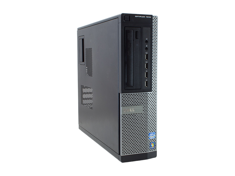 Dell OptiPlex 7010 DT - DESKTOP | i5-3470 | 4GB DDR3 | 128GB SSD | DVD-RW | HD 2500 | Win 7 Pro COA | Gold
