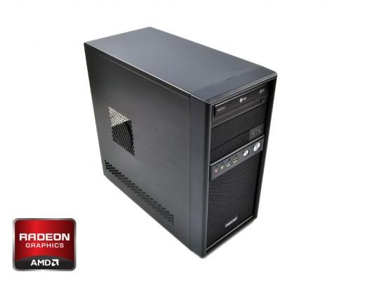 "Furbify GAMER Tower i5 ""Warrior"" + RX 470 8GB repasovaný počítač, Intel Core i5-4570, Radeon RX470 8GB, 8GB DDR3 RAM, 240GB SSD, 320GB HDD - 1604067 #1"
