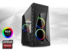 "Furbify PC Tower ""Rainbow"" + Radeon RX470 8GB"