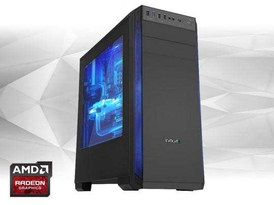 """Furbify Gamer PC """"Witcher"""" + RX470 8GB repasovaný počítač, Intel Core i5-4570, Radeon RX470 8GB, 8GB DDR3 RAM, 240GB SSD, 320GB HDD - 1604078 #1"""