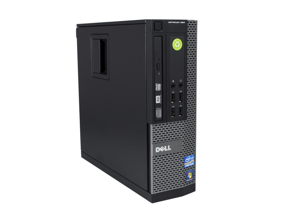 "Dell OptiPlex 790 SFF - SFF | i3-2100 | 4GB DDR3 | 250GB HDD 3,5"" | DVD-RW | HD 2000 | Win 7 Pro COA | Gold"