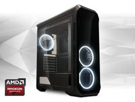 """Furbify PC 6 Tower """"Cutter"""" + Radeon RX470 8GB"""