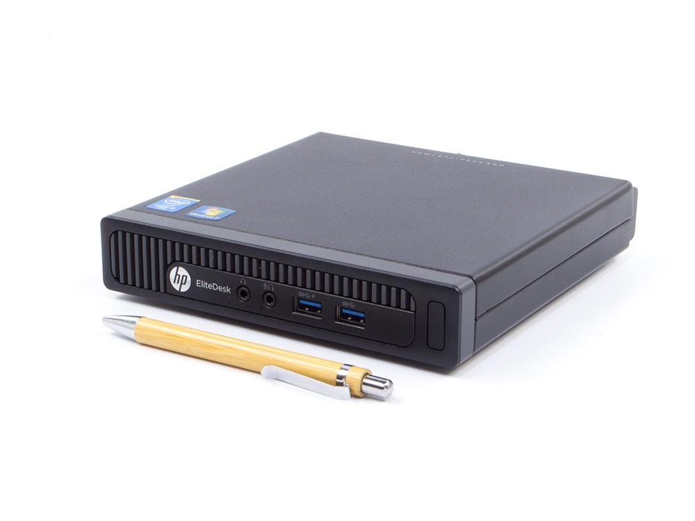 HP EliteDesk 800 G1 DM - Tiny | i5-4570T | 8GB DDR3 | 120GB SSD | NO ODD | HD 4600 | Win 10 Pro | Gold