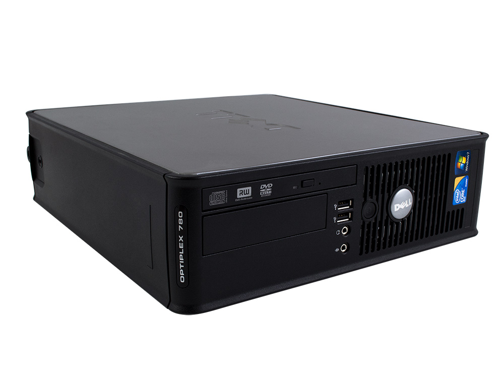 Dell OptiPlex 760 SFF - SFF | C2D E7300 | 4GB DDR2 | 128GB SSD | DVD-ROM | GMA 4500 | Win 7 Pro COA | Gold