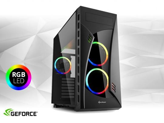 "Furbify PC Tower ""Rainbow"" + GTX 1650 AERO ITX OC 4GB repasovaný počítač, Intel Core i5-6500, GTX 1650 4GB, 8GB DDR4 RAM, 250GB SSD - 1604746 #1"