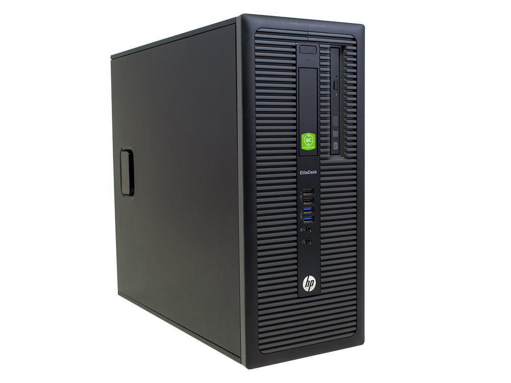 "HP EliteDesk 800 G1 - TOWER | i5-4570 | 16GB DDR3 | 240GB SSD | 500GB HDD 3,5"" | DVD-RW | HD 4400 | Intel HD | Win 7 Pro | Gold"