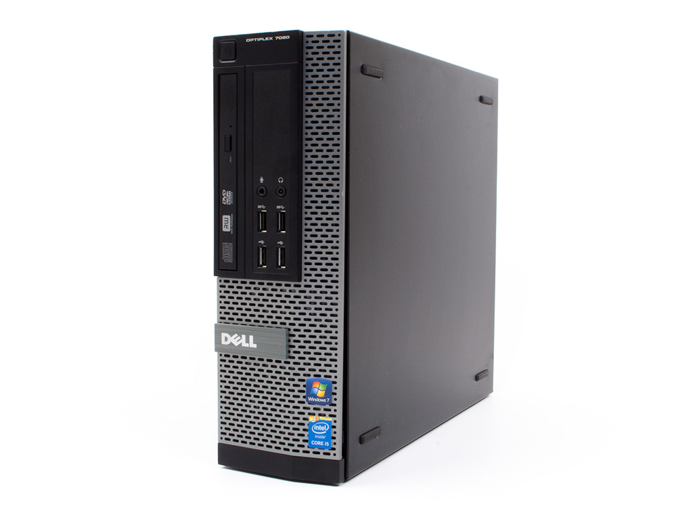 "Dell OptiPlex 7020 SFF - SFF | i7-4790 | 4GB DDR3 | 500GB HDD 3,5"" | DVD-RW | HD 4600 | Win 10 Pro | Gold"