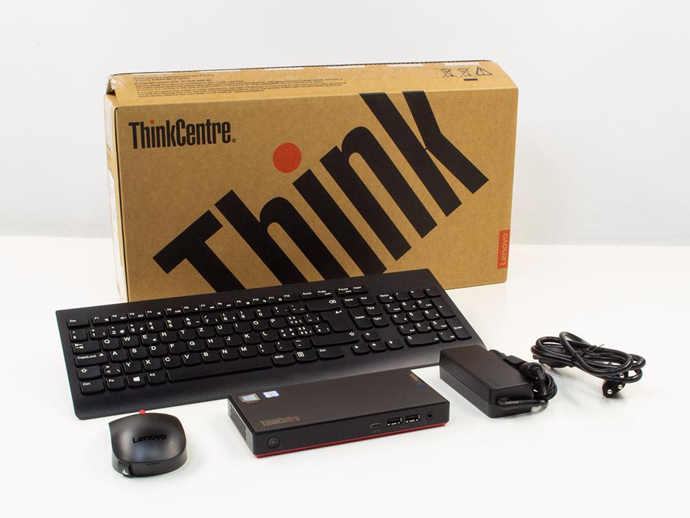 Lenovo ThinkCentre M90n NANO - BOXED - UCFF | i3-8145U | 4GB DDR4 | 128GB (M.2) SSD | NO ODD | Intel UHD | Win 10 Pro | NEW