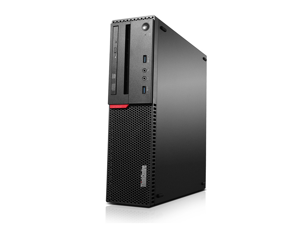 Lenovo ThinkCentre M800 - SFF | i5-6500 | 8GB DDR4 | 128GB SSD | NO ODD | HD 530 | Win 10 Pro | Silver