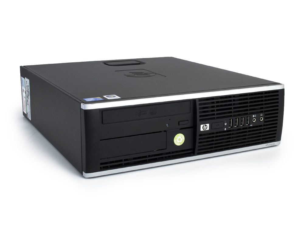 "HP Compaq 8000 Elite SFF - SFF | C2Q Q9505 | 4GB DDR3 | 320GB HDD 3,5"" | DVD-RW | GMA 4500 | Win 7 Pro COA | Gold"