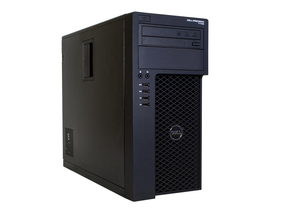 Dell Precision T1700 - MT | i7-4770 | 8GB DDR3 | 240GB SSD | DVD-RW | Quadro K2000 2GB | Win 7 Pro | Silver