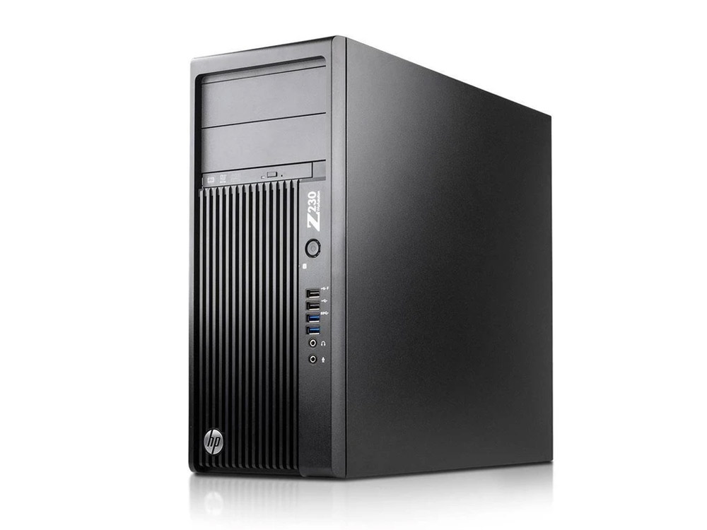 HP Z230 Workstation - TOWER | i7-4790 | 8GB DDR3 | 256GB SSD | DVD-RW | Intel HD | Win 10 Pro | Silver