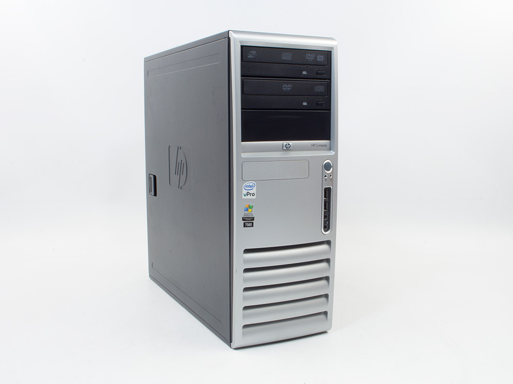 """HP Compaq dc7700p CMT - CMT   C2D E6600   4GB DDR2   250GB HDD 3,5""""   DVD-RW   GMA 3000   Bronze"""