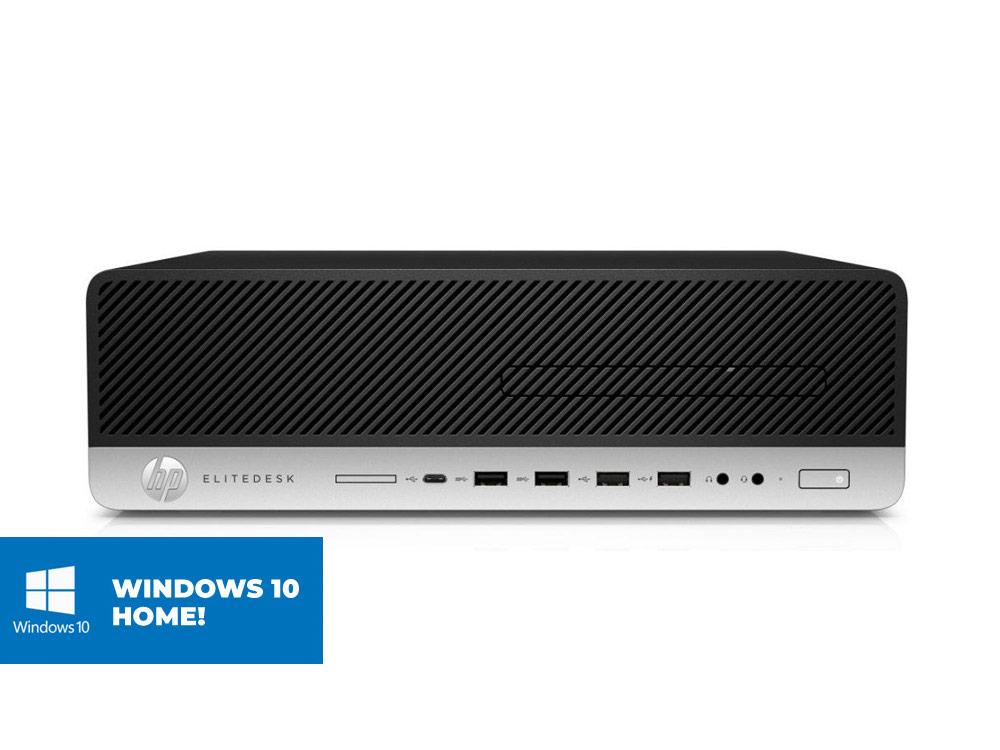 HP EliteDesk 800 G3 SFF + MAR Windows 10 Home - SFF | i5-7500 | 16GB DDR4 | 512GB (M.2) SSD | NO ODD | HD 630 | MAR Win 10 Home | Gold