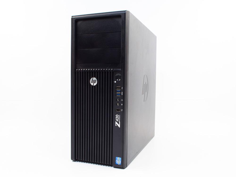 "HP Z420 Workstation - Xeon E5-1620 | 16GB DDR3 | 500GB HDD 3,5"" | DVD-RW | FirePro V3900 1GB | Win 7 Pro COA | Gold"