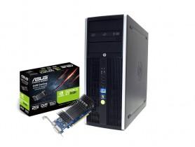 HP Compaq 8200 Elite CMT i5-2400 + ASUS GT 1030 2GB Low Profile repasovaný počítač - 1605242