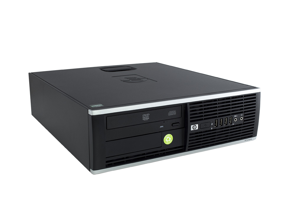 HP Compaq 6005 Pro SFF - SFF | Phenom X2 B55 | 4GB DDR3 | 240GB SSD | DVD-ROM | HD 4200 | Silver