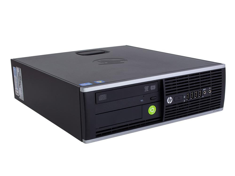 """HP Compaq 6300 Pro SFF - SFF   i3-3240   4GB DDR3   240GB SSD   500GB HDD 3,5""""   DVD-RW   HD 2000   Win 10 Pro   Silver"""