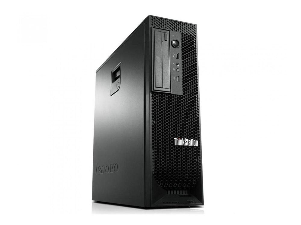 Lenovo ThinkStation C30 - TOWER   Xeon E5-2620   16GB DDR3   240GB SSD   NO ODD   NVS 310   Win 7 Pro COA   Silver