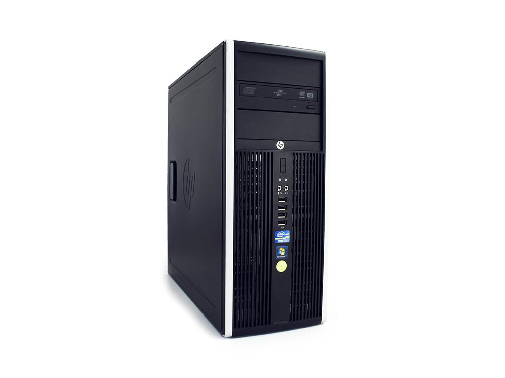 "HP Compaq 8200 Elite CMT - CMT   i5-2400   16GB DDR3   250GB HDD 3,5""   DVD-ROM   HD 2000   Win 7 Pro COA   Silver"