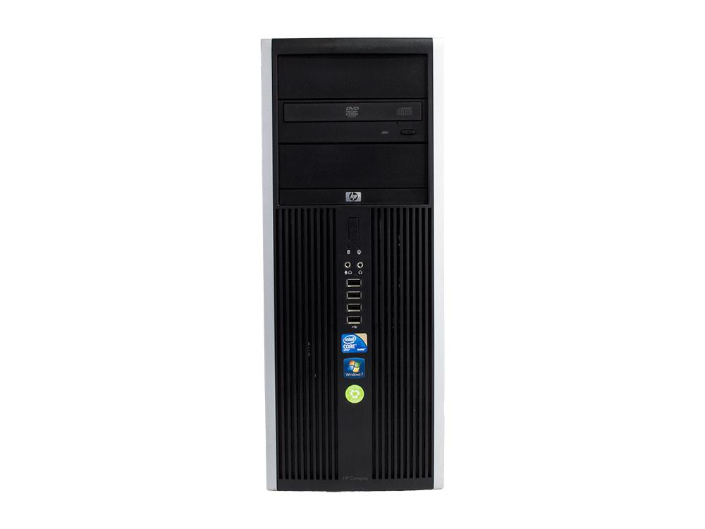 HP Compaq 8100 Elite CMT - CMT | i5-650 | 4GB DDR3 | 120GB SSD | DVD-RW | Intel HD | Win 7 Pro | Silver