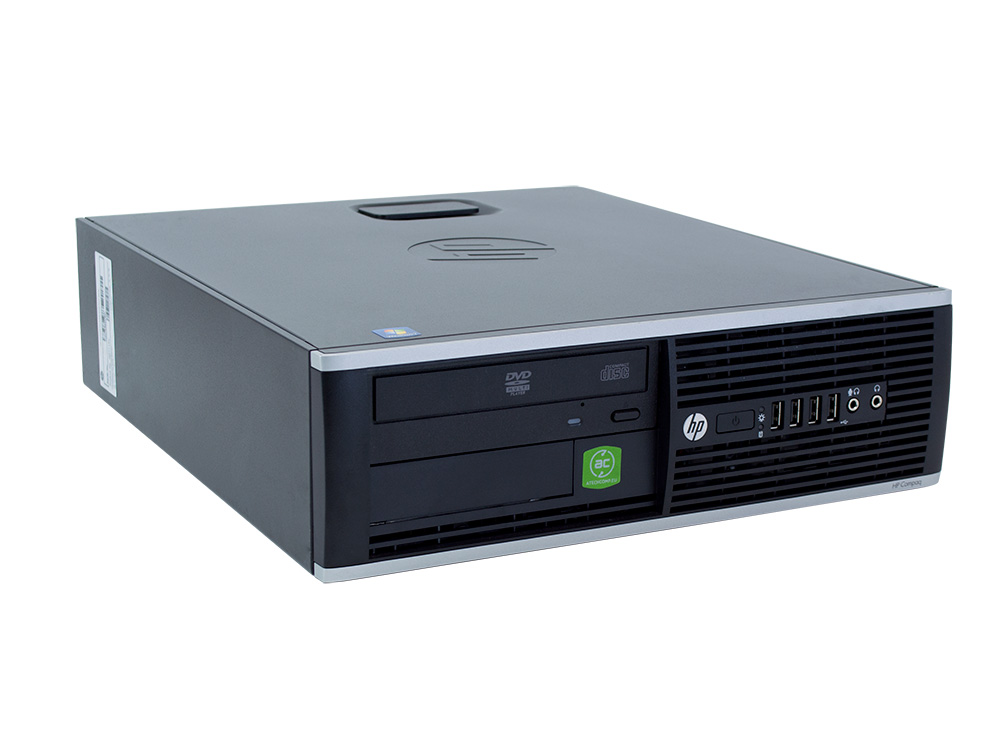 HP Compaq 6305 Pro SFF + Windows 10 Home - SFF | A4-5300B | 4GB DDR3 | 128GB SSD | 250GB HDD 3,5"