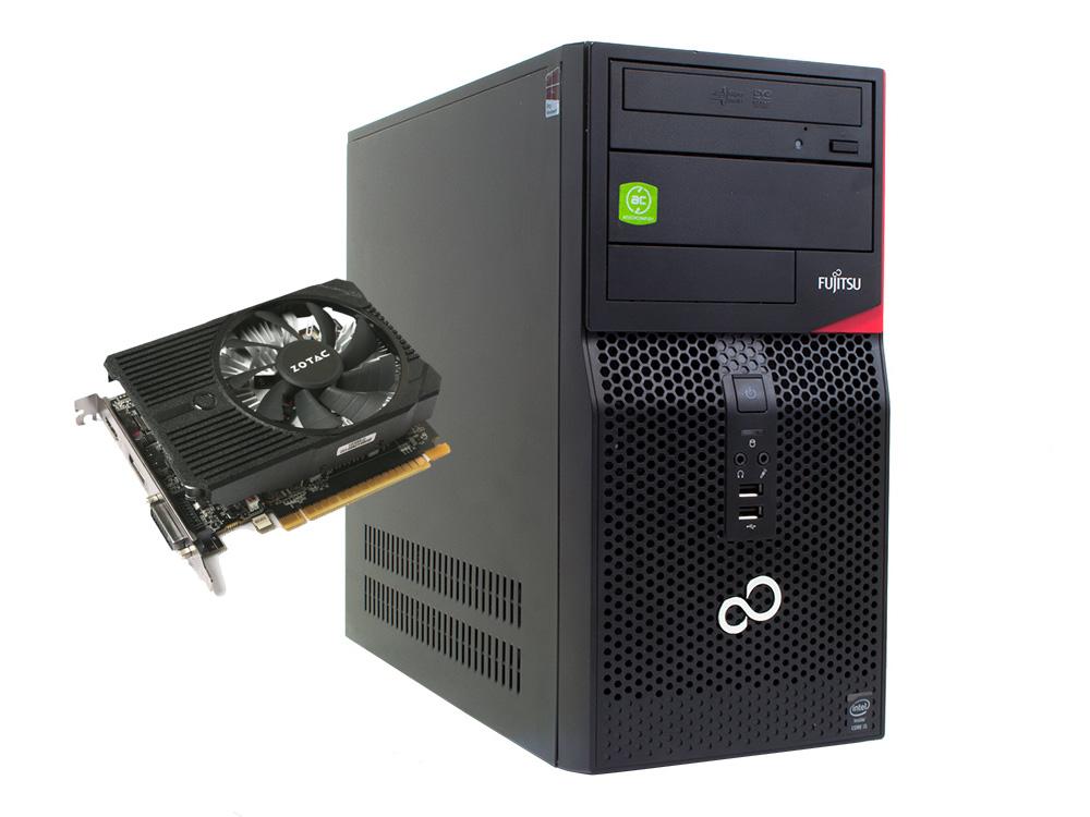 Fujitsu Esprimo P420 MT + Zotac GTX 1050 2GB (Quality Gold) - MT | i5-4440 | 8GB DDR3 | 1TB SSD | DVD-RW | GTX 1050 2GB | Win 10 Pro | HDMI | Silver
