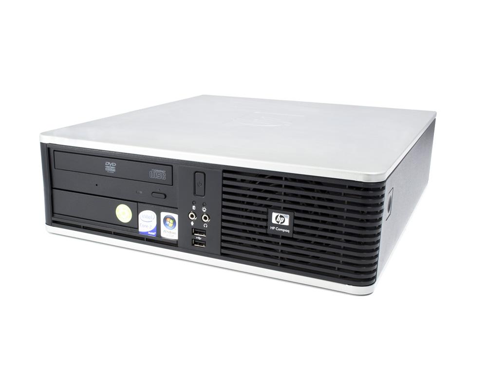 "HP Compaq dc7800 SFF - SFF | C2D E8400 | 4GB DDR2 | 160GB HDD 3,5"" | DVD-ROM | Intel HD | Bronze"