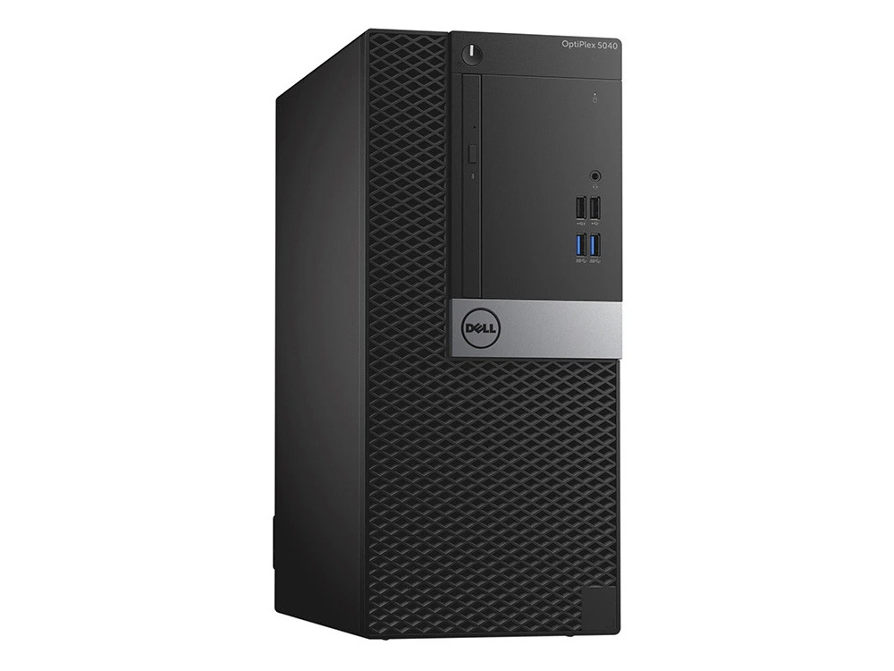 Dell OptiPlex 5040 MT - MT | i5-6500 | 8GB DDR3 | 256GB (M.2) SSD | DVD-RW | HD 530 | Win 10 Pro | HDMI | Gold