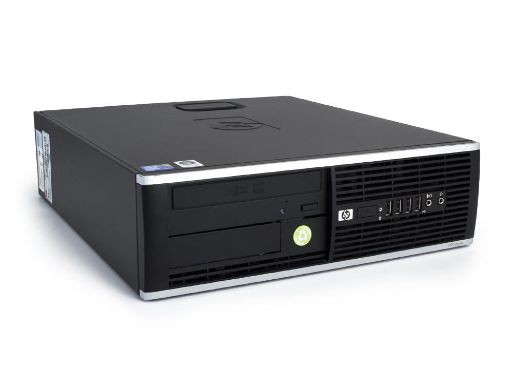 "HP Compaq 8000 Elite SFF - SFF   C2Q Q9505   4GB DDR3   320GB HDD 3,5""   DVD-RW   GMA 4500   Win 7 Pro COA   Bronze"