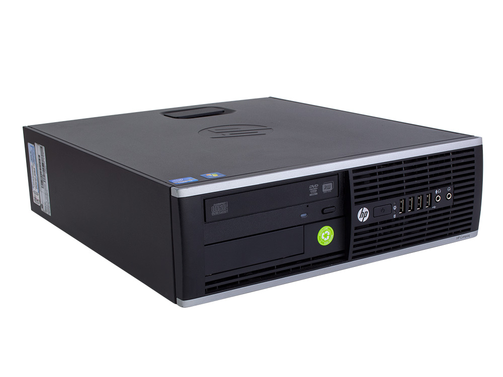 HP Compaq 6300 Pro SFF - SFF | i5-3340 | 8GB DDR3 | 120GB SSD | DVD-ROM | HD 2500 | Win 7 Pro COA | Silver
