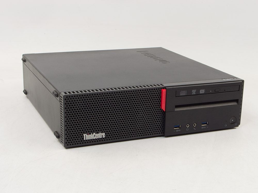 "Lenovo ThinkCentre M700 SFF - i5-6400 | 4GB DDR4 | 250GB HDD 3,5"" | DVD-RW | HD 530 | Win 10 Pro | Silver | 6. Generation"