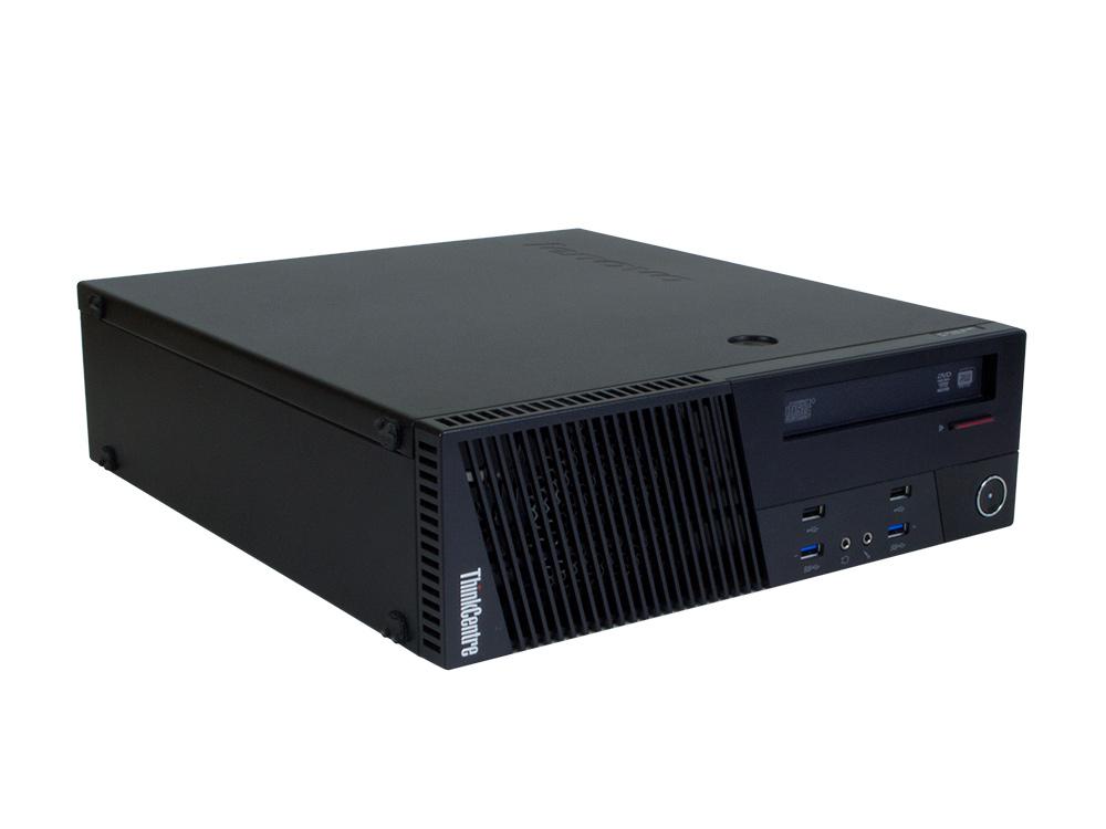 Lenovo ThinkCentre M93p SFF - SFF | i7-4770 | 8GB DDR3 | 240GB SSD | DVD-ROM | HD 4600 | Win 10 Pro | Silver